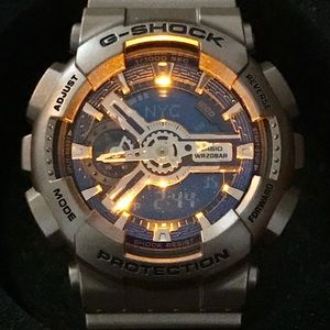 Limited Edition Rose Gold G-Shock Watch